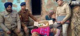शिलाई की बेसहारा बुजुर्ग शिबी देवी के लिए 'बेटा' बनी पुलिस