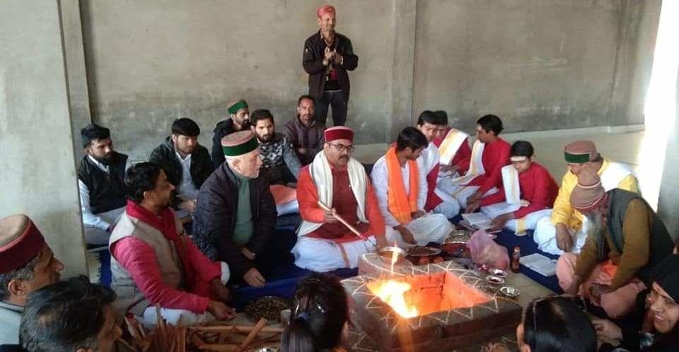 रामपुर बुशहर के दत्तनगर में खुला हिमाचल प्रदेश का पहला वेद विद्यालय, अब वैदिक ज्ञान और विज्ञान साथ