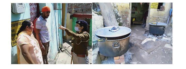कर्फ्यू में भी नाहन के मोहल्ला गोविंदगढ़ में चल रही थी भंडारे की तैयारी,  पुलिस ने किया केस दर्ज, वाहन भी जब्त