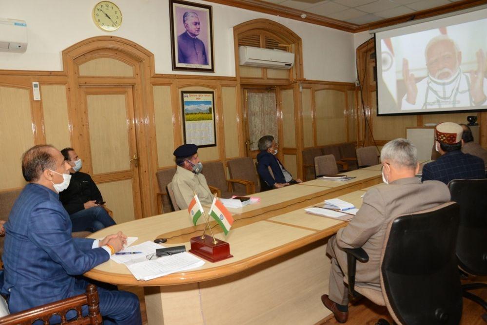 ACF प्रभावी रूप से चलाने के लिए PM ने की CM की सराहना, हिमाचल में अब 10 कोरोना पॉजिटिव शेष- जांच रेशो 10 लाख में 700