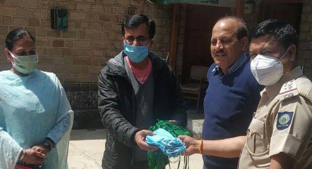 जोगिंद्रनगर में कोई भी न रहे भूखा, एक पहल माउंटेन सेवा समिति ने किया नम्बर जारी
