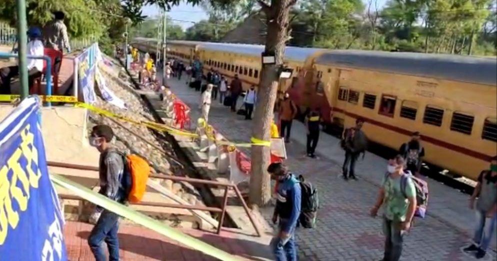 विशेष ट्रेन से ऊना पहुंचे गोवा में फंसे करीब 1473 लोग