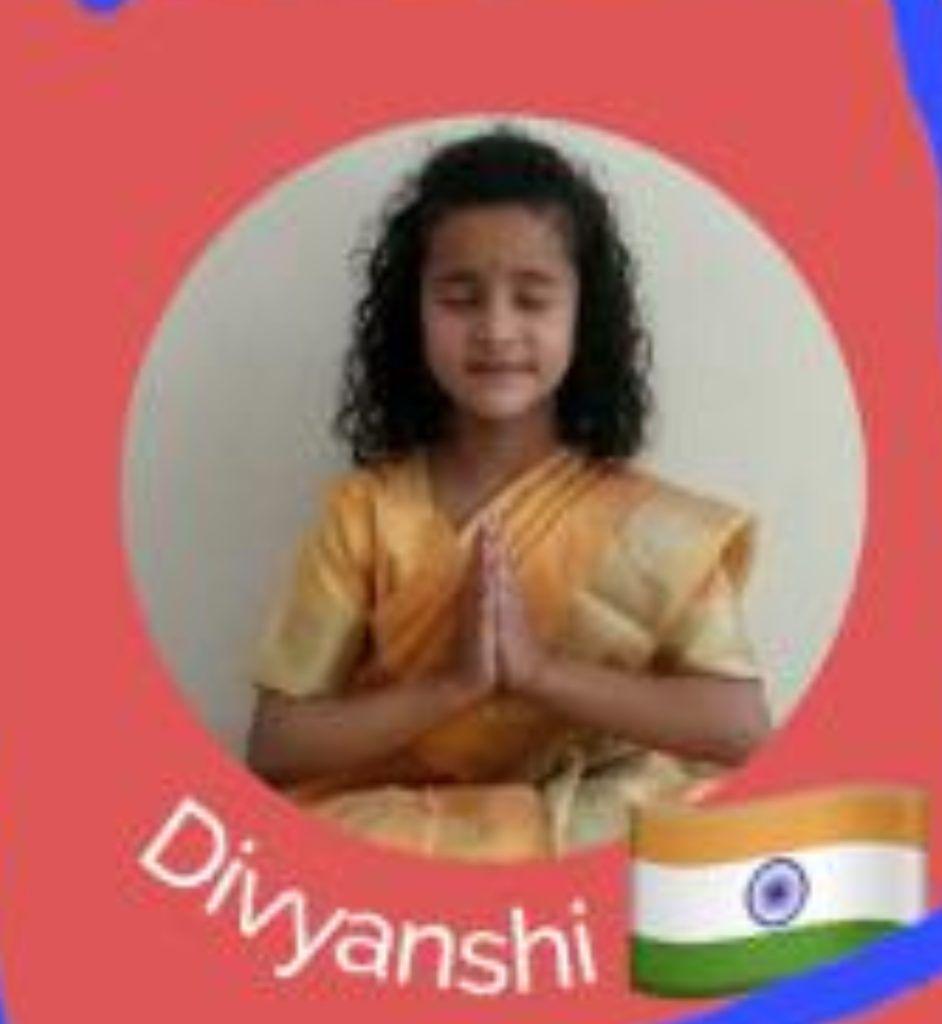 दयानन्द पब्लिक स्कूल शिमला की दिव्यांशी वर्मा ऑनलाइन ग्लोबल किड्स इवेंट में करेगी हिमाचल का प्रतिनिधित्व