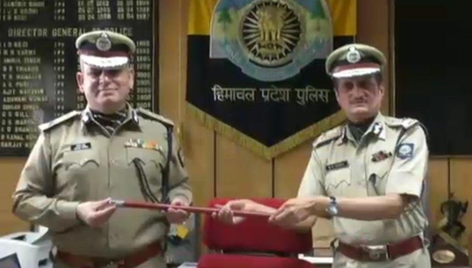 संजय कुंडू ने संभाला हिमाचल के डीजीपी का पदभार, मरडी ने दी बधाई