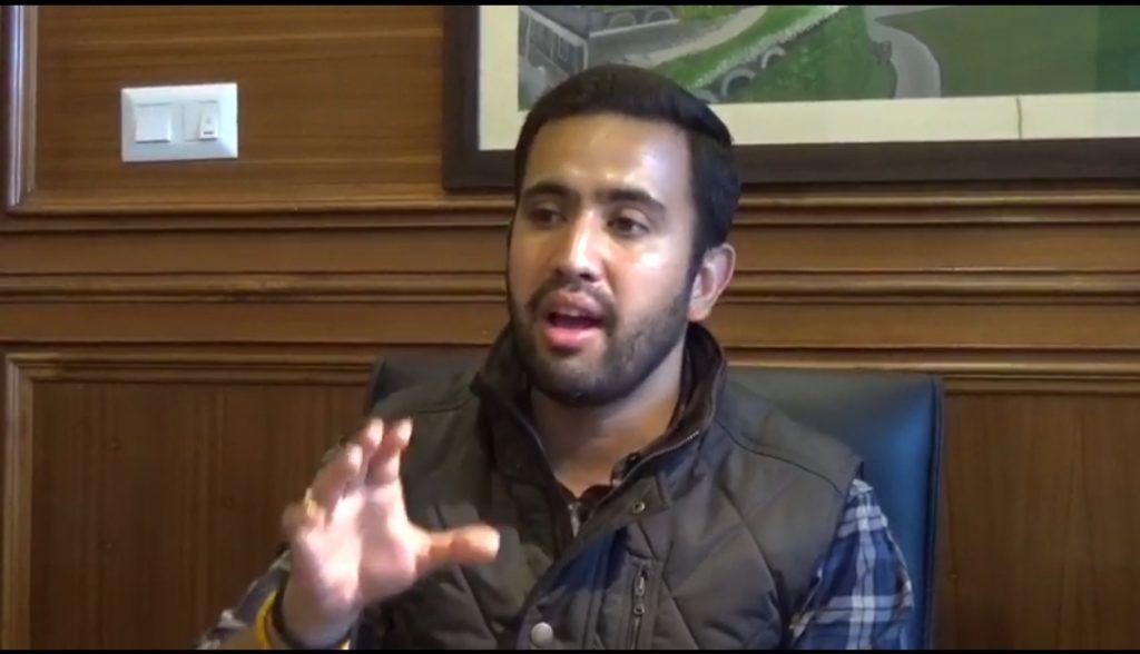 विक्रमादित्य सिंह बोले  भाजपा में अंतर्कलह, सूट सिला कर लाइनों में मंत्री बनने के लिए बैठे है विधायक