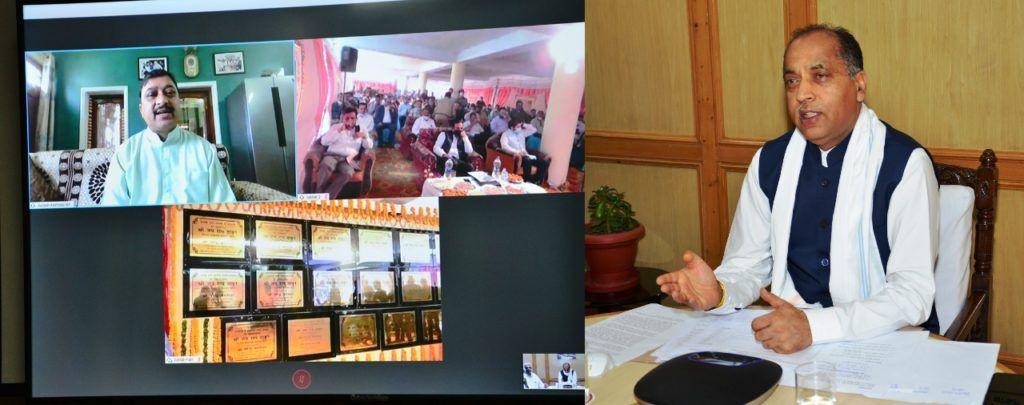 सीएम ने जुब्बल क्षेत्र में 76.25 करोड़ की विकास योजनाएं की समर्पित