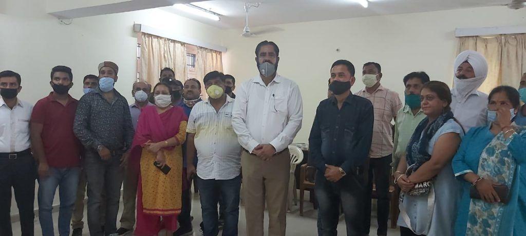 MC पांवटा साहब द्वारा गार्बेज कलेक्शन के नाम पर भारी भरकम बिल देने का व्यापार मंडल ने किया कड़ा विरोध