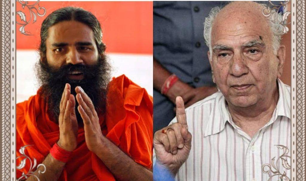 बाबा रामदेव को मिला शांता कुमार का साथ, एक अकेले सन्यासी ने किया गांधी का सपना साकार, तुरंत वापस लें मामले