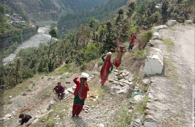 हिमाचल में कांगड़ा बना मनरेगा का रोल मॉडल, 71% कार्यदिवस महिलाओं द्वारा सृजित