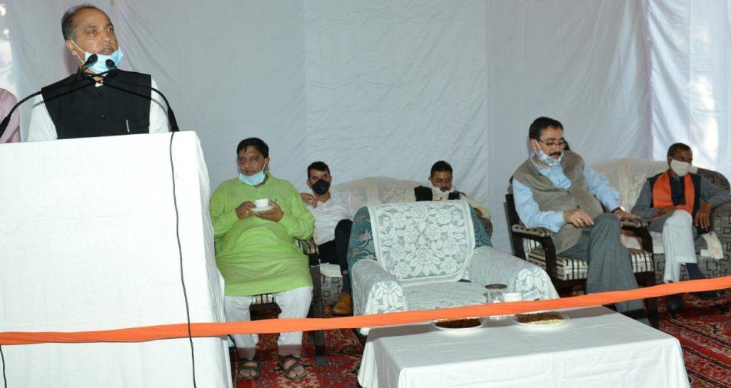 कोविड महामारी में भी विकास कार्य प्रभावित न हो यह सुनिश्चित कर रही है सरकारः सीएम