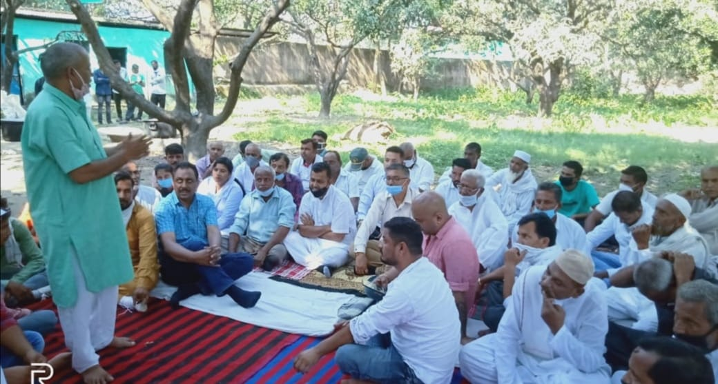 किसान विरोधी इस काले कानून को निरस्त किया जाए अन्यथा कांग्रेस उग्र आंदोलन करेगी -अजय सोलंकी