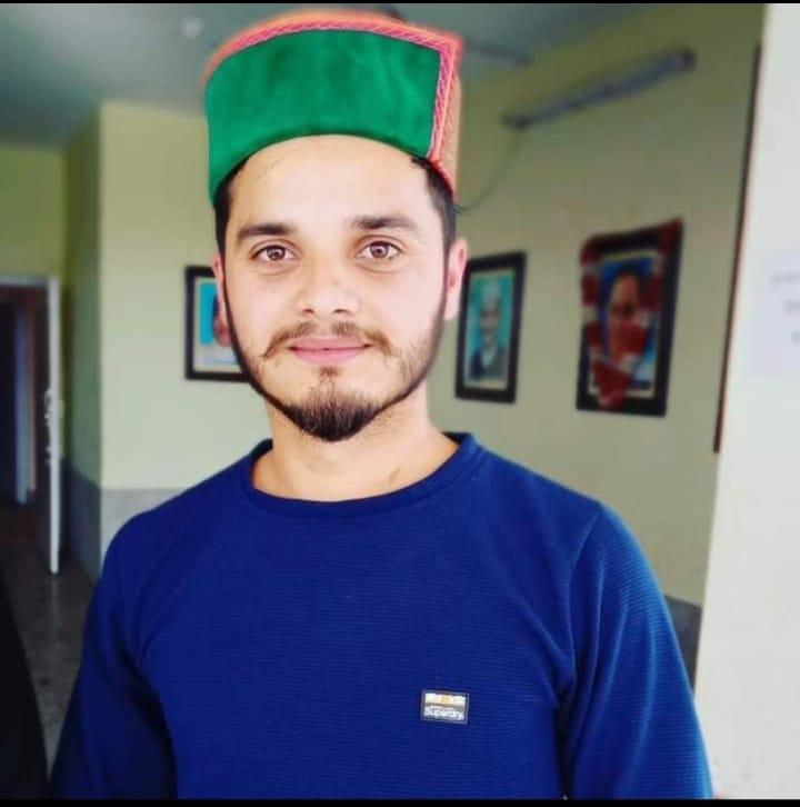 कमरऊ के छात्र नेता विपुल शर्मा को किया जिला सिरमौर NSUI का अध्यक्ष नियुक्त