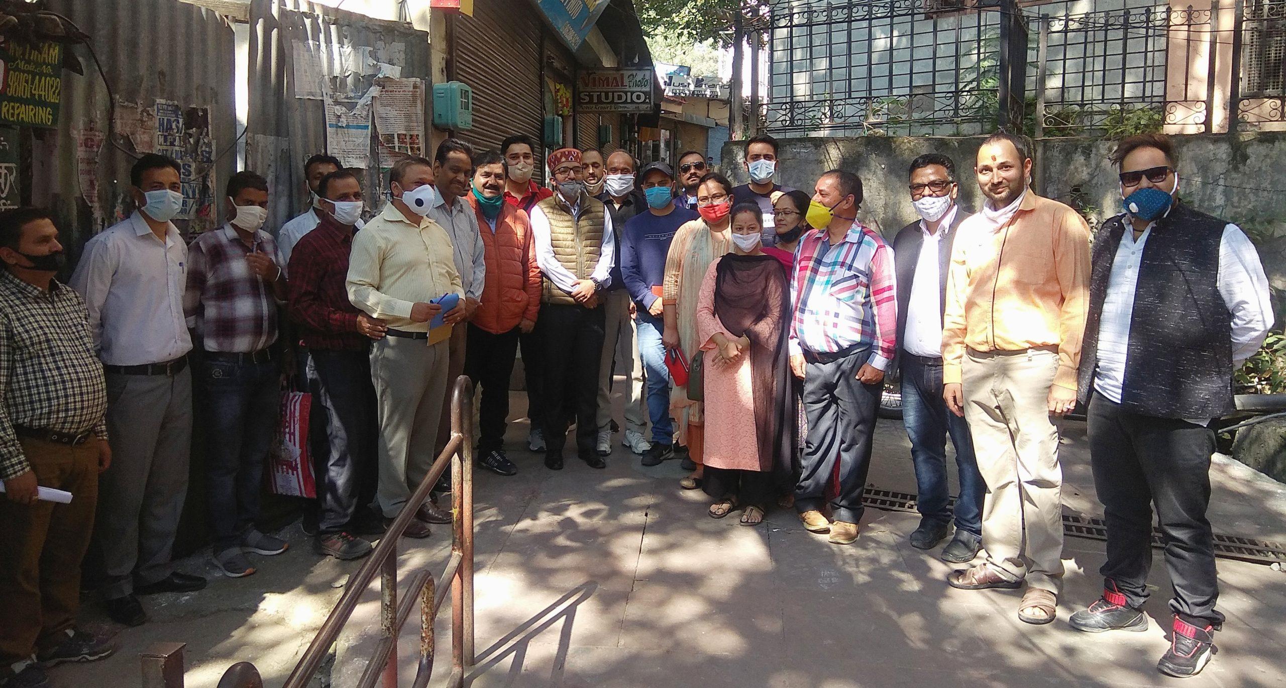 रामपुर बुशहर में एक हजार गाड़ियों की पार्किंग बनने का रास्ता साफ, Joint इंस्पेक्शन में सबकी हाँ