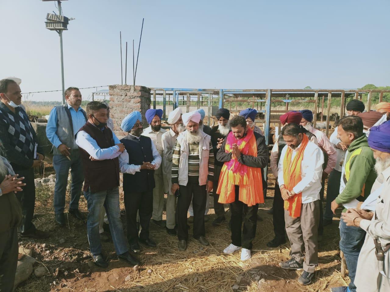 पूर्व MLA केएल ठाकुर ने नालागढ़ में किए 1. 82 करोड़ की योजनाओं के उदघाटन- शिलान्यास
