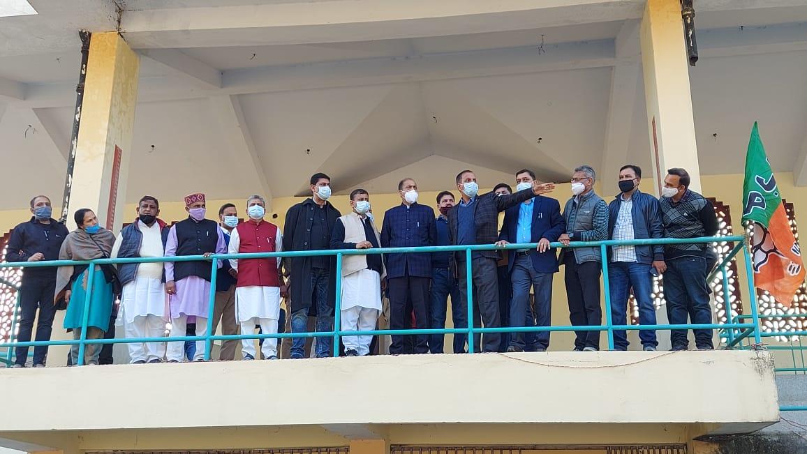JP नड्डा कल से बिलासपुर दौरे पर, सीएम जयराम ने लिया तैयारियों का जायज़ा