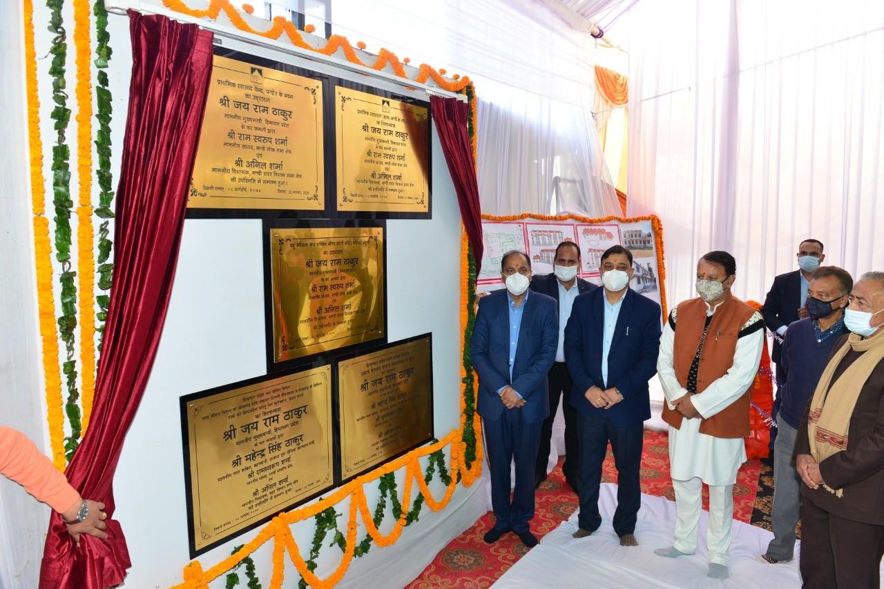 सीएम ने मण्डी में किए 15 करोड़ के विकास कार्यक्रमों के लोकार्पण एवं शिलान्यास