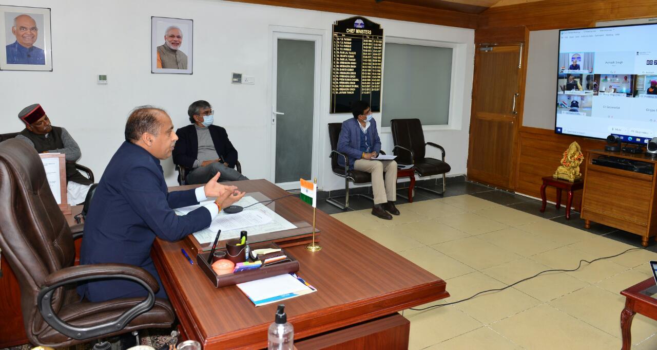 मुख्यमंत्री ने प्रदेश के लिए ऊर्जा उपकरण विनिर्माण हब स्वीकृत करने का आग्रह किया