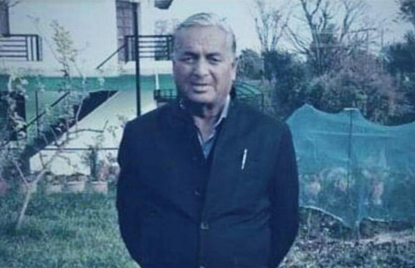 हिमाचल विधानसभा पूर्व अध्यक्ष पंडित तुलसी राम शर्मा का निधन