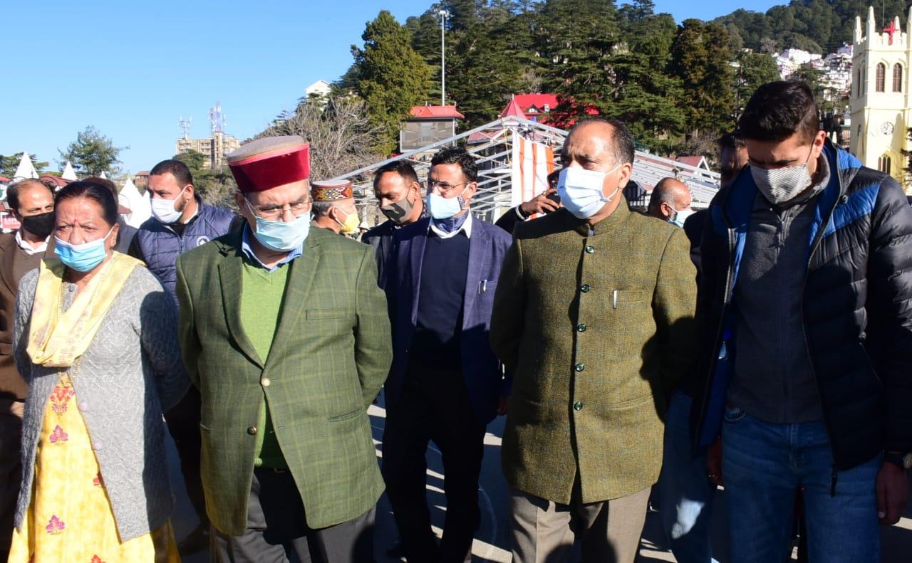मुख्यमंत्री ने पूर्ण राज्यत्व दिवस समारोह के प्रबन्धों की समीक्षा की