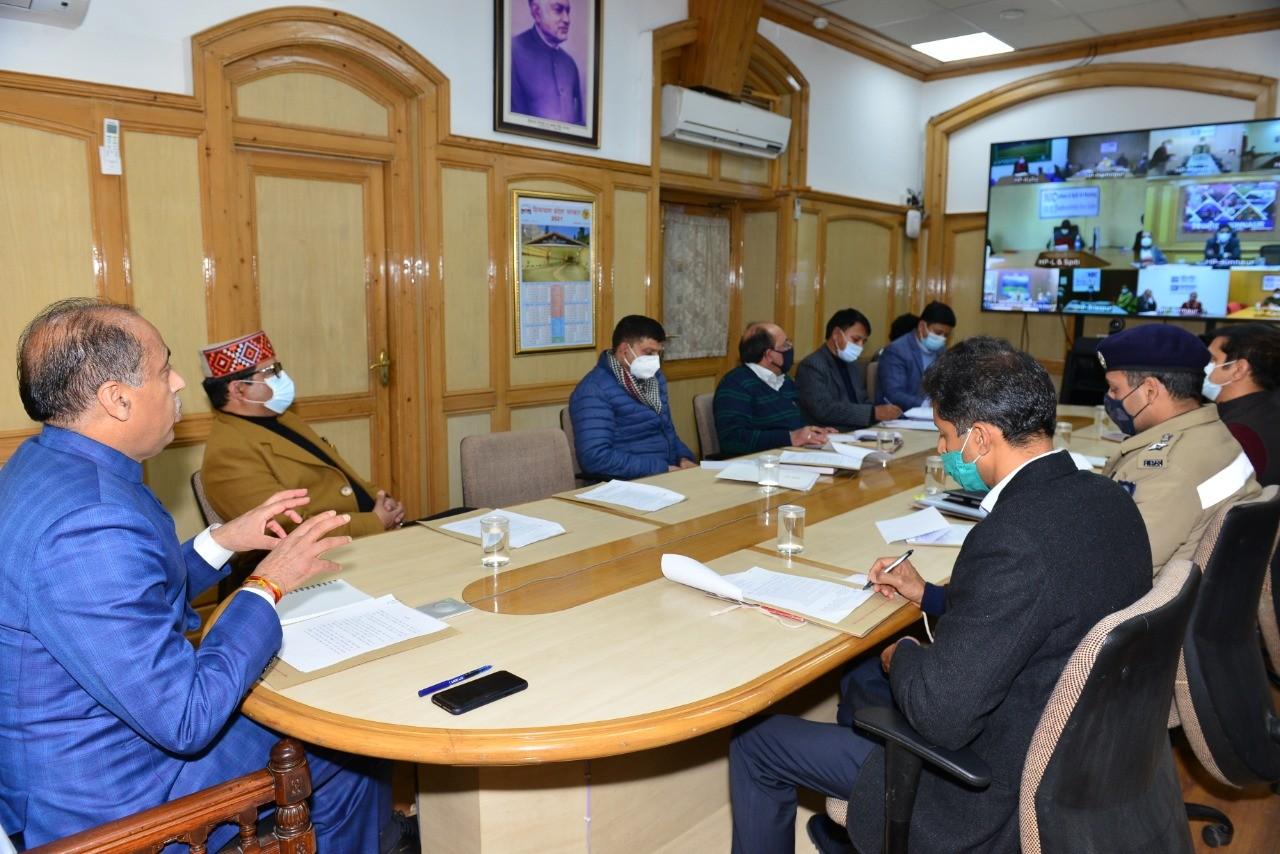 मुख्यमंत्री ने उपायुक्तों को जिला व उप-मंडल स्तर पर पूर्ण राज्यत्व दिवस समारोह मनाने के निर्देश दिए