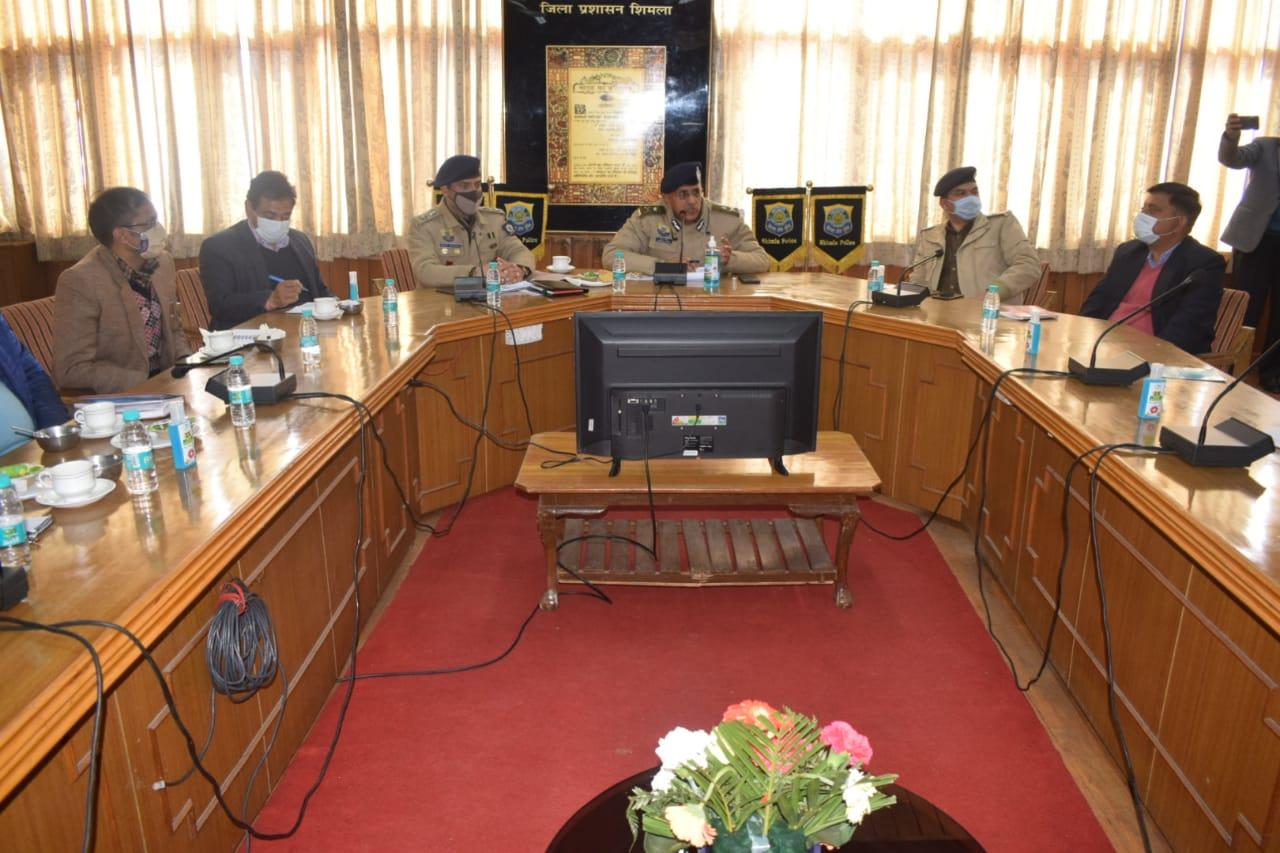 IG हिमांशु मिश्रा ने हिमाचल के पूर्ण राज्यत्व दिवस की तैयारियों का लिया जायजा, चाक चौबंद रहेंगी सुरक्षा व्यवस्था