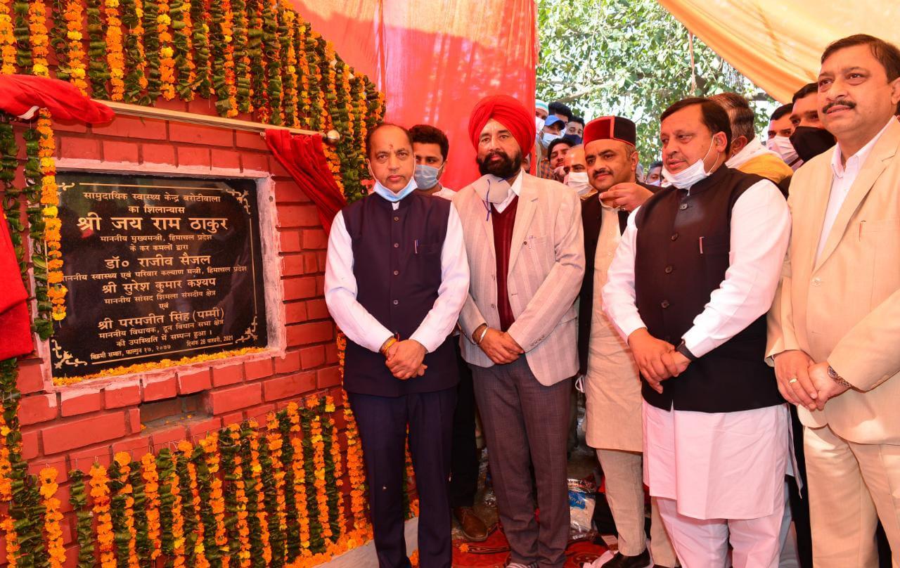मुख्यमंत्री ने दून विधानसभा क्षेत्र में 29 करोड़ रुपये की विकासात्मक परियोजनाओं के लोकार्पण और शिलान्यास किए