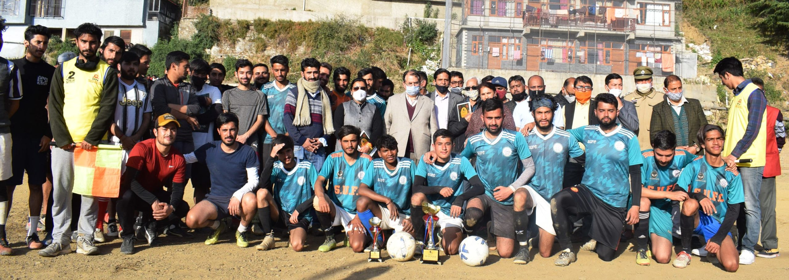समरहिल यूनाईटेड फुटबाल क्लब द्वारा आयोजित 4 दिवसीय समरकप-2021 का समापान, सुरेश भारद्वाज ने नवाजे खिलाड़ी