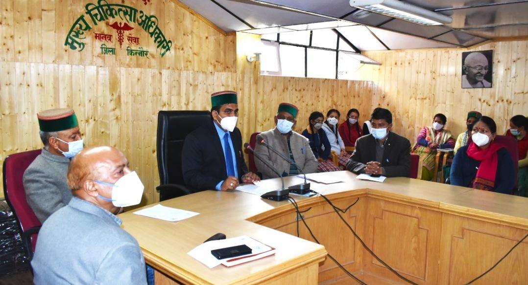 TB उन्मुलन के सफल कार्यन्यवन के लिए हिमाचल के 5 जिले अव्वल, लाहौल स्पीति को रजत तो 4 को कांस्य पदक- बैरवा