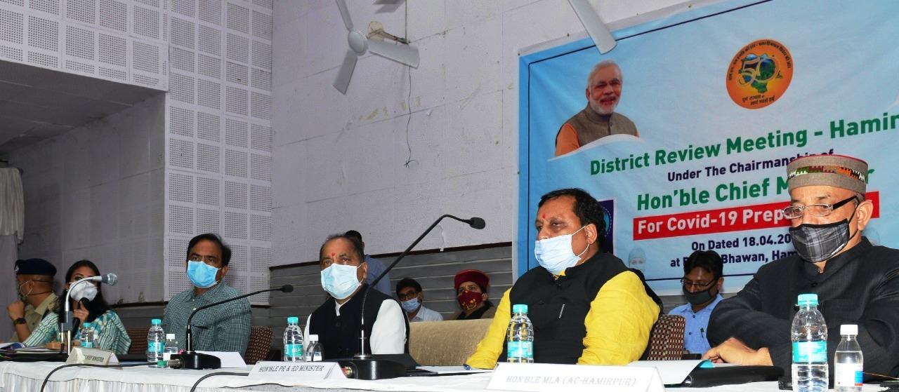 मुख्यमंत्री ने कोविड के लिए सैंपल की जांच बढ़ाने पर बल दिया