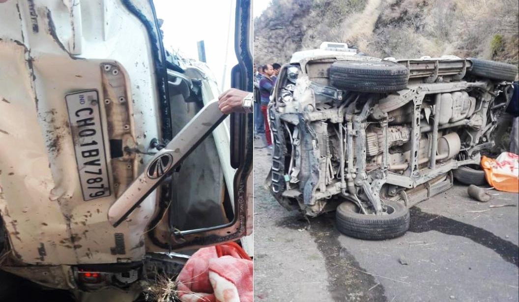 कुमारसैन के बड़ागाँव रोड़ पर सड़क हादसे में 3 लोगों की मौत