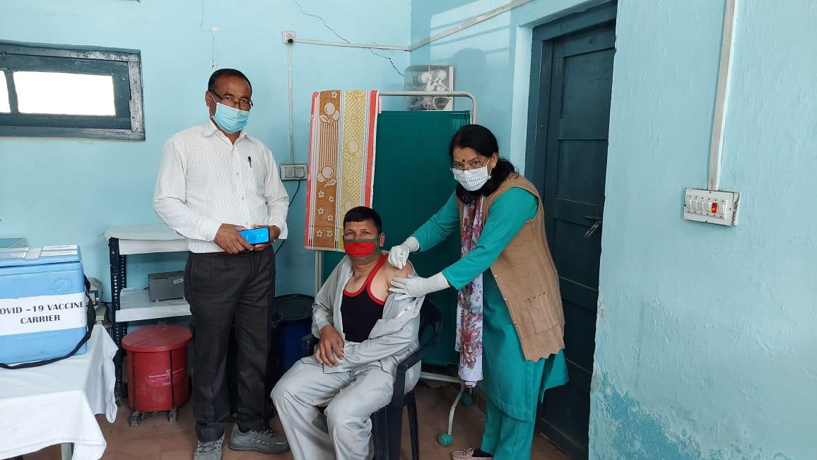 14 जून, 2021 को टीकाकरण के लिए 25951 लोगों ने किया पंजीकरण