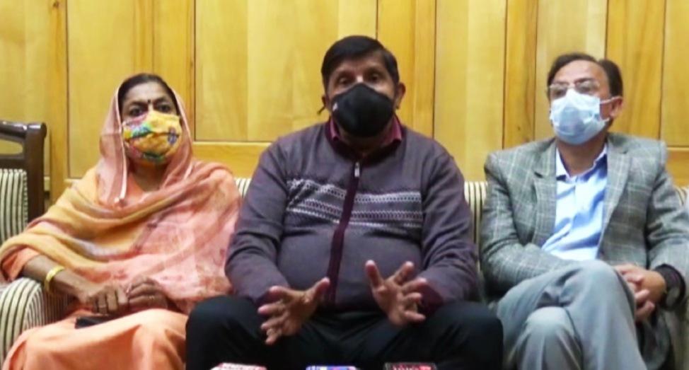 मुकेश अग्रिहोत्री ने प्रदेश में कमजोर स्वास्थ्य व्यवस्था पर किए सवाल खड़े
