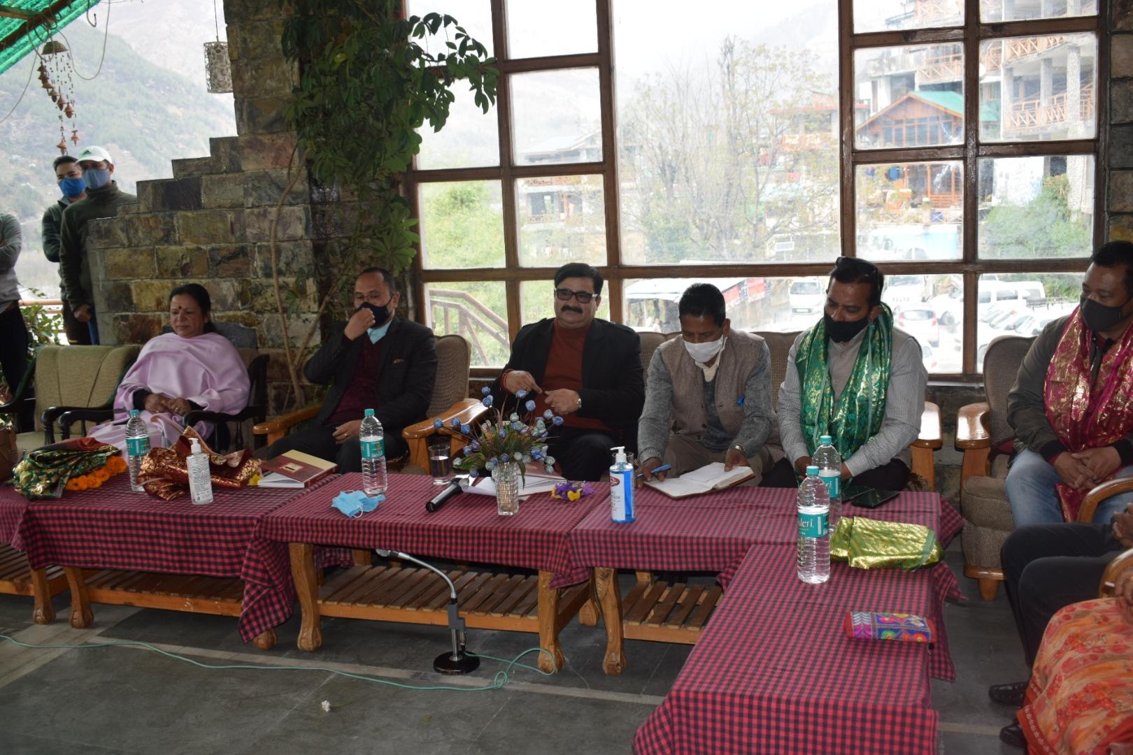 मनाली विधानसभा क्षेत्र में CM की घोषणाओं को समयबद्ध किया पूरा-गोविंद ठाकुर