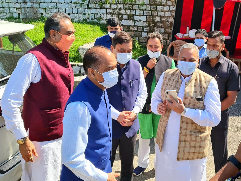 BJP की धर्मशाला बैठक सम्पन्न-2022 मिशन रिपीट को लेकर रोडमैप तैयार, अनेकों कार्यक्रमों से बनाएंगे कार्यकर्ताओं को ऊर्जावान