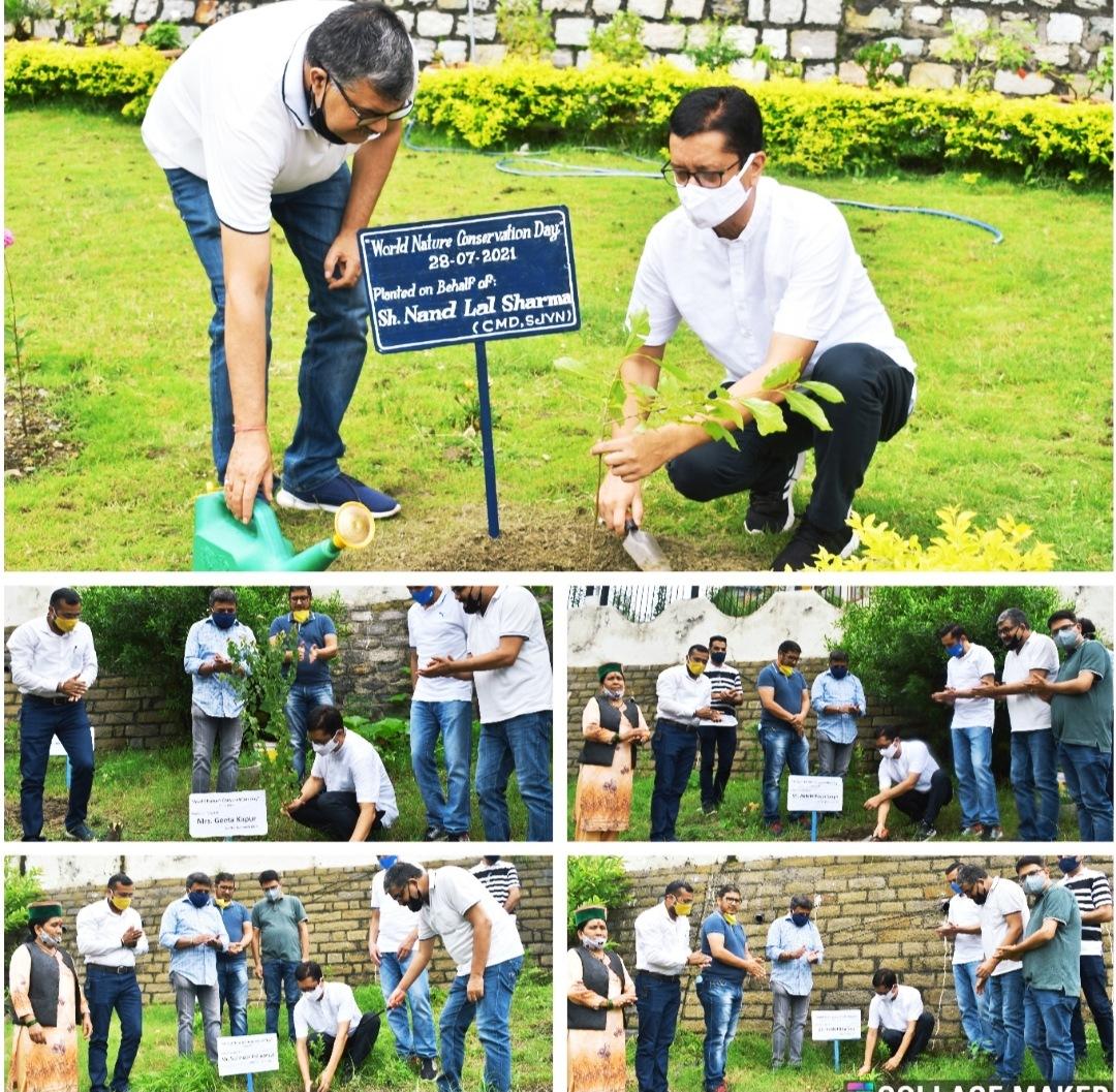 नाथपा झाकड़ी हाइड्रो पावर स्टेशन ने झाकड़ी में मनाया विश्व प्रकृति संरक्षण दिवस