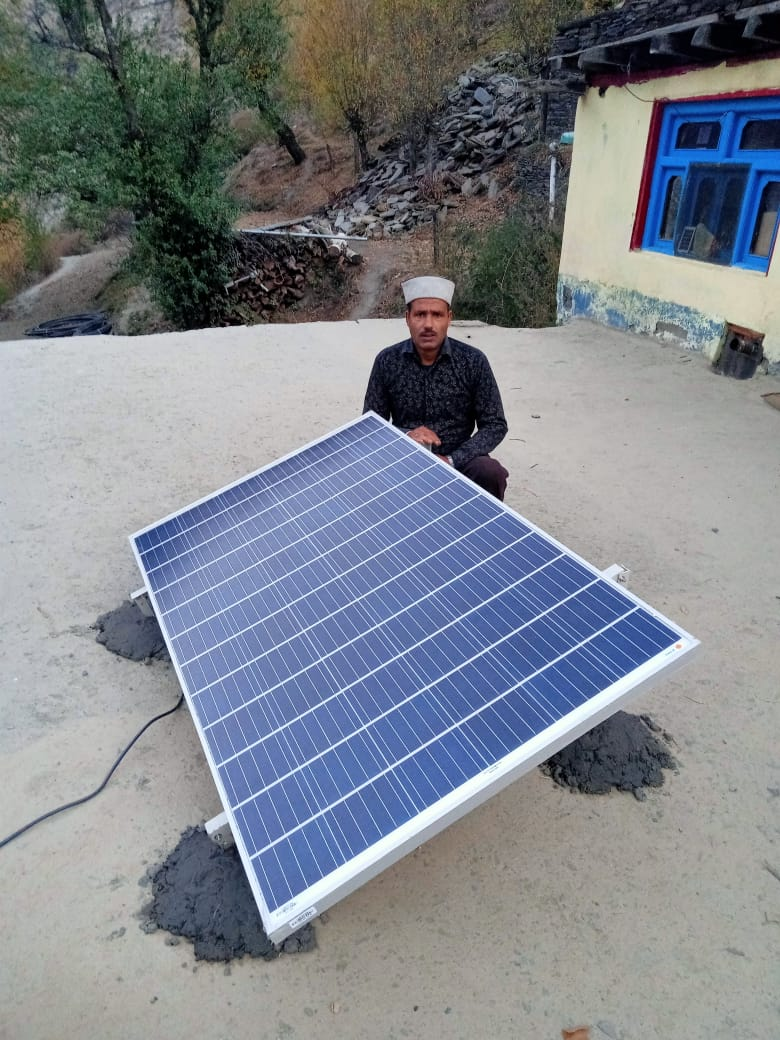 चम्बा की पांगी घाटी में 2162 बीपीएल परिवारों को उपलब्ध करवाई जाएगी ऑफ ग्रिड पाॅवर प्लांट, 250 वाट के सौर ऊर्जा संयंत्र करेंगे प्रदान
