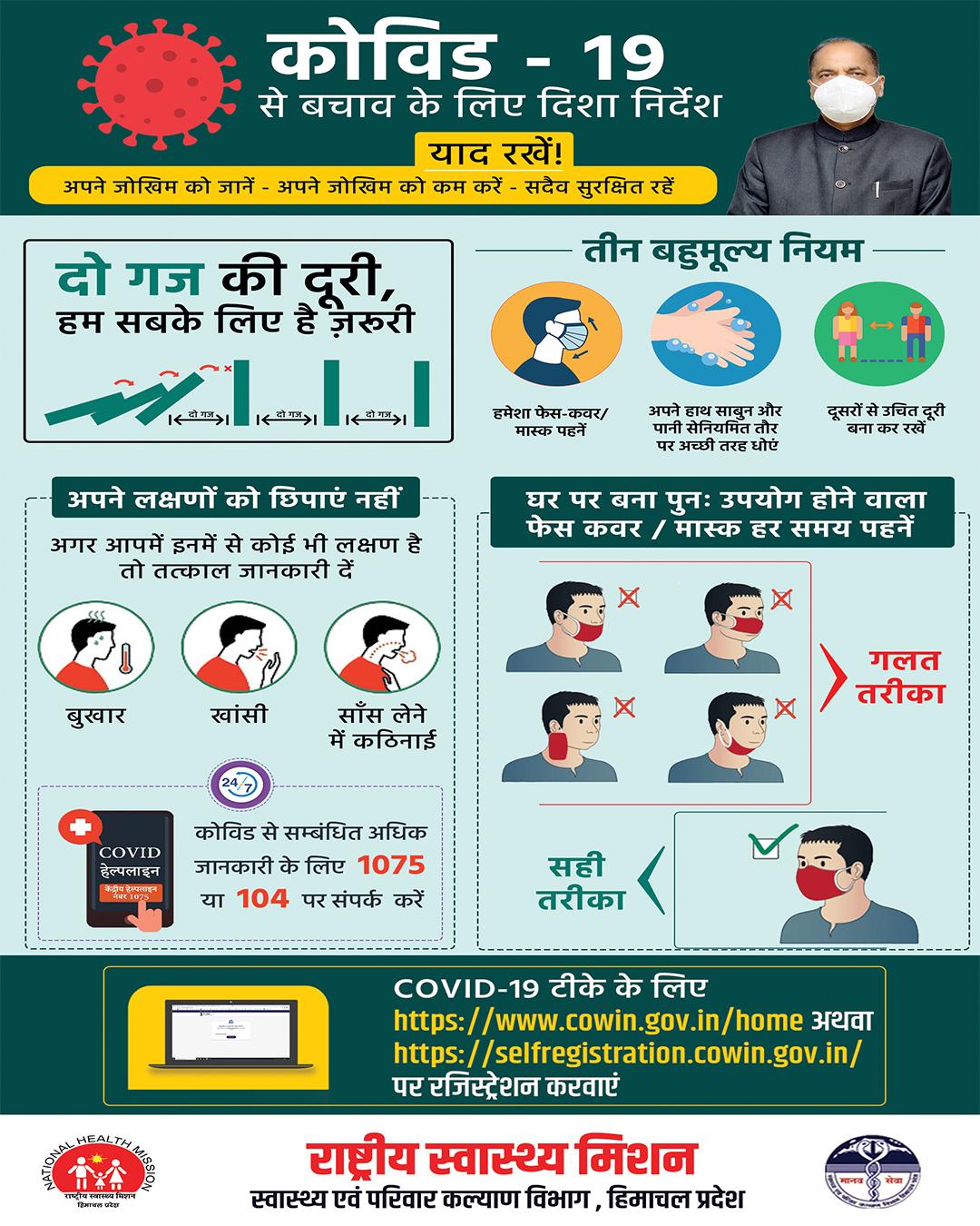NHM हिमाचल प्रदेश कोविड टीकाकरण अभियान, ऑनलाइन कार्यशालाओं में कर रहा प्रश्नों का निपटारा