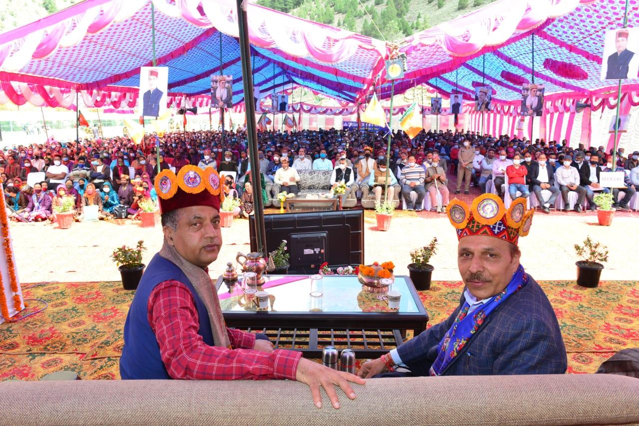 CM ने की उदयपुर में अग्निशमन उप-केन्द्र खोलने और PHC को नागरिक अस्पताल में स्तरोन्नत करने की घोषणा, 66.50 करोड़ की योजनाएं समर्पित