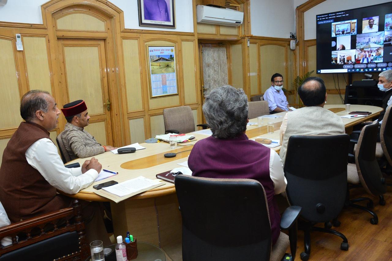 मुख्यमंत्री ने कोविड-19 टीकाकरण की पहली खुराक का लक्ष्य हासिल करने के लिए स्वास्थ्य कर्मियों का आभार व्यक्त किया