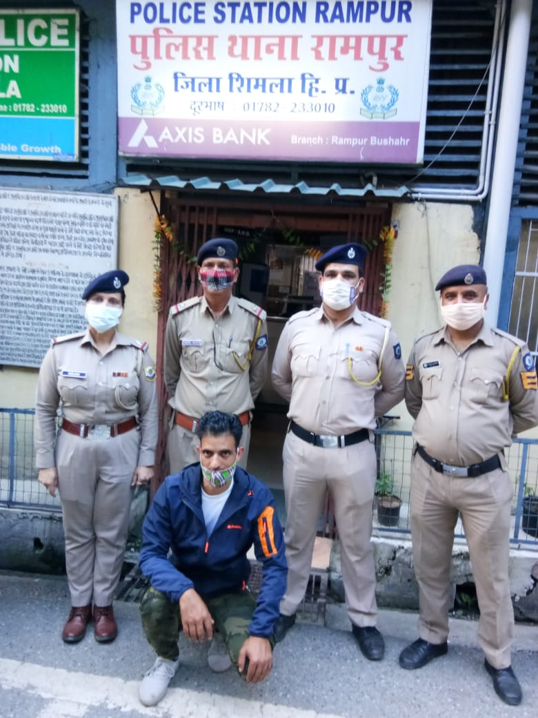 निरमण्ड का युवक 494 ग्राम चरस के साथ गिरफ्तार