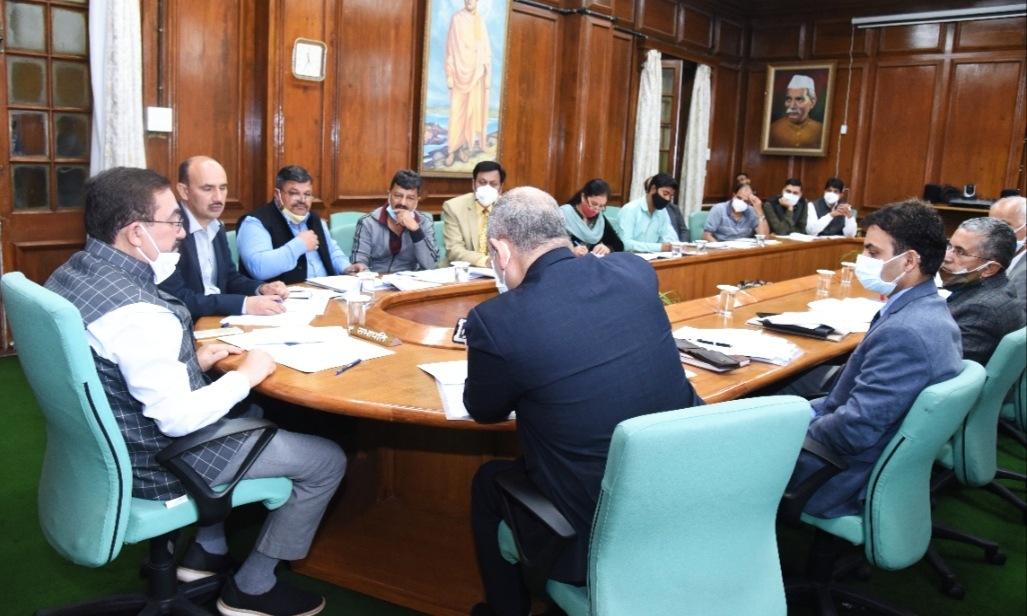 हिमाचल विधानसभा के विशेष सत्र को लेकर अध्यक्ष ने की उच्च अधिकारियों के साथ बैठक, 13 से 15 तक सभी कर्मचारियों के होंगे कोविड टैस्ट