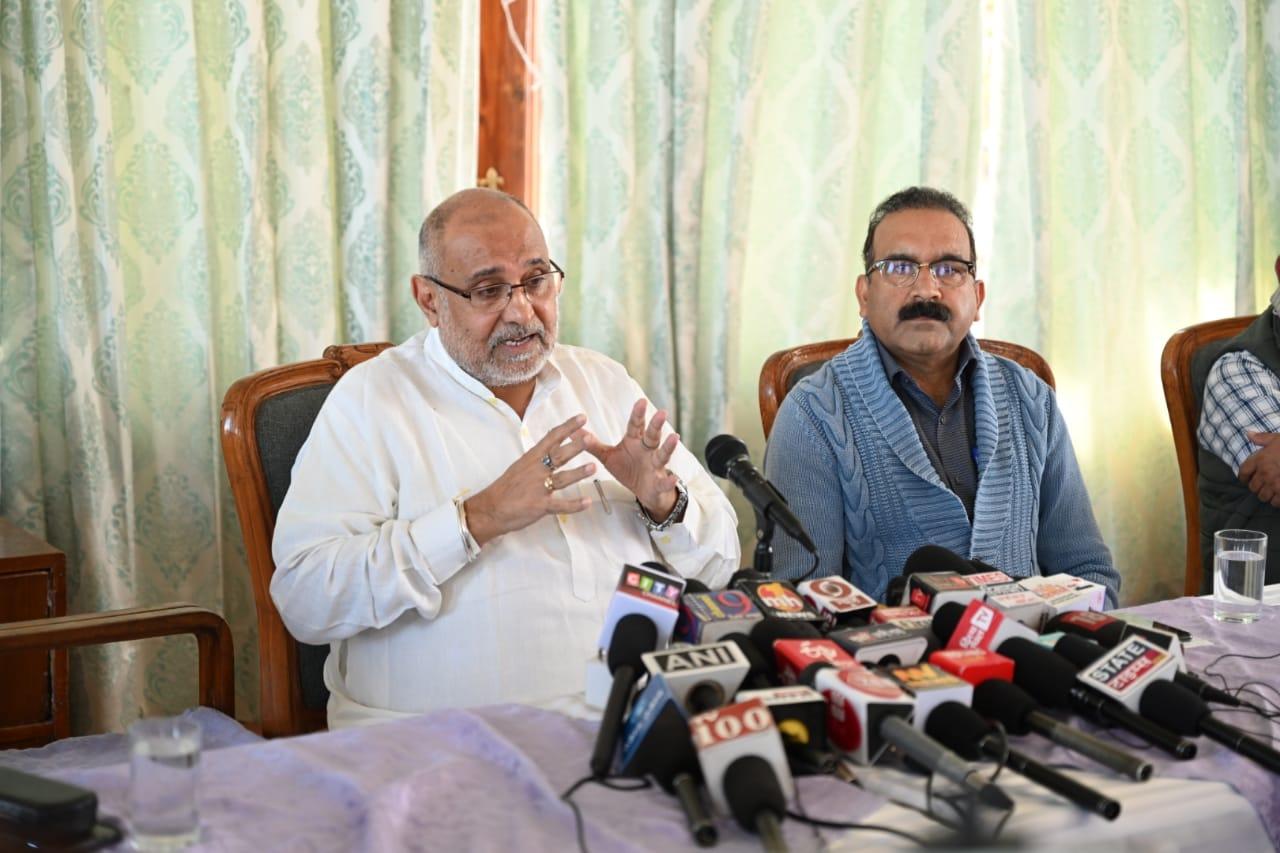 भाजपा ने परिवारवाद को दरकिनार कर साधारण कार्यकर्ताओं को दिया टिकट, बागियों के लिए पार्टी के दरवाजे बंद-अविनाश राय