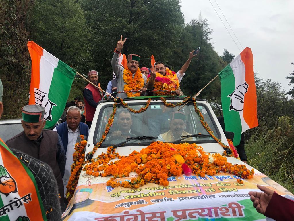 चार वर्षों में भाजपा ने की जिला शिमला की अनदेखी: रोहित ठाकुर