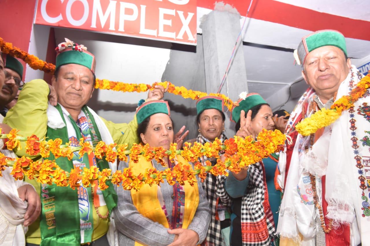 स्व. वीरभद्र सिंह के सपनों को पूरा करना कर्तव्य ही नही मेरी जिम्मेदारी- प्रतिभा सिंह