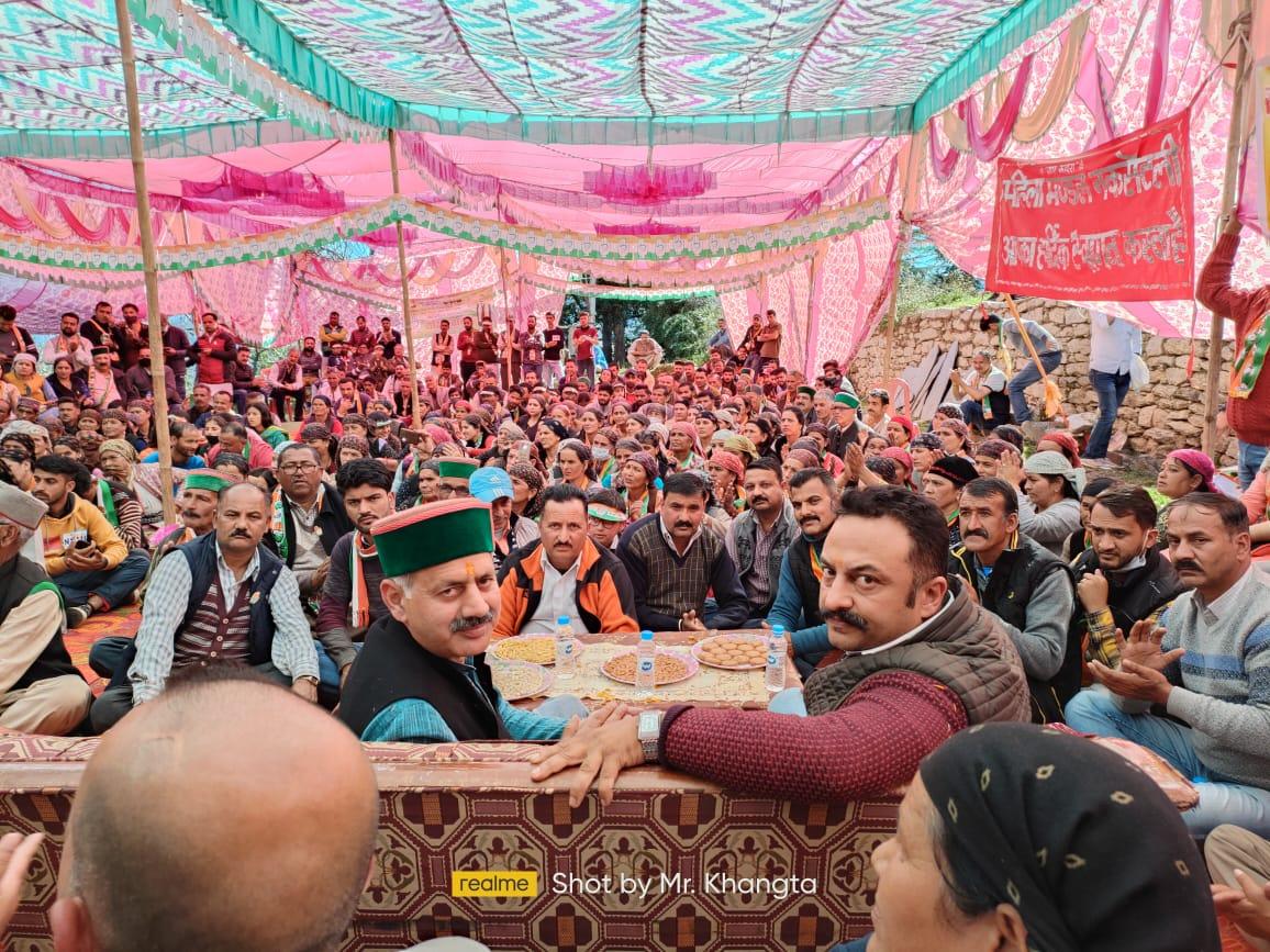 जुब्बल-नावर-कोटखाई का उप चुनाव जिला शिमला के नेतृत्व का चुनाव- राजेश धर्माणी