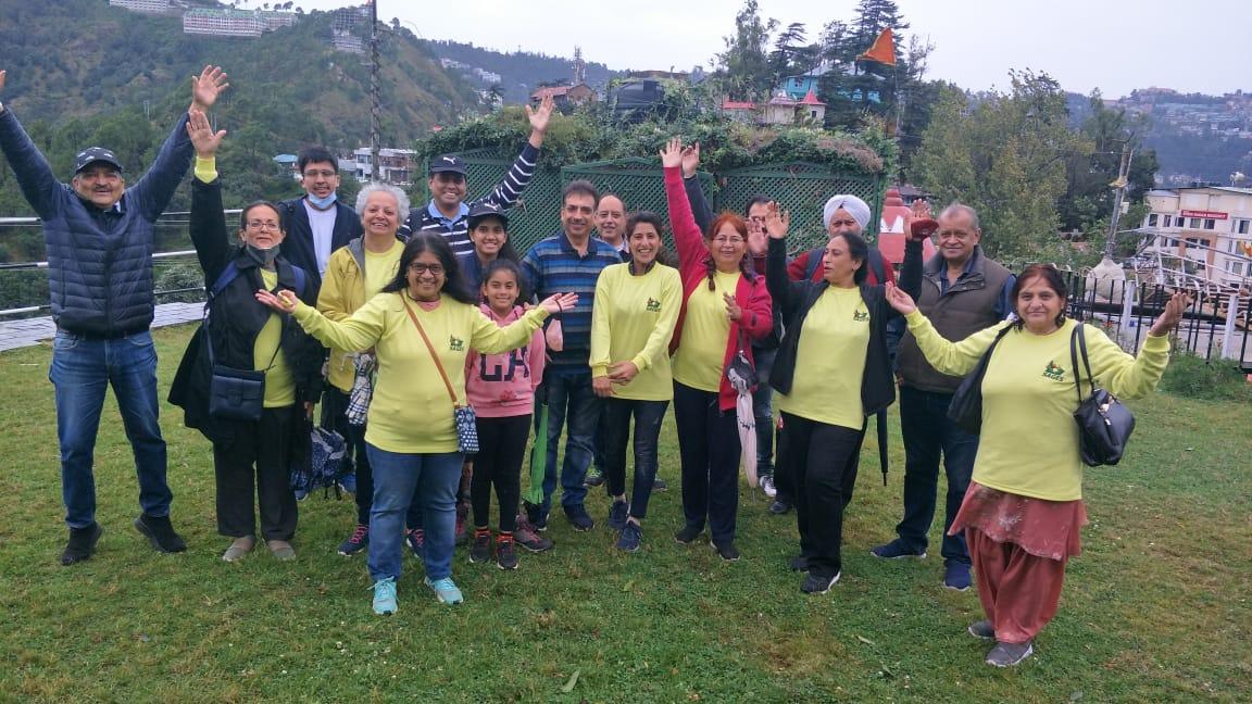 सेजिस संस्था ने शिमला में किया नेचर वॉक का आयोजन