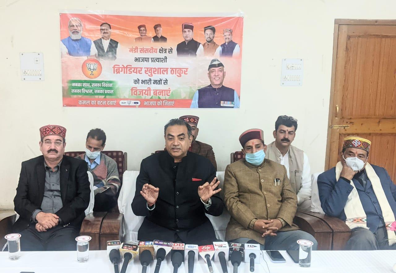 हिमाचल प्रदेश कांग्रेस मुक्त की ओर अग्रसर : टंडन