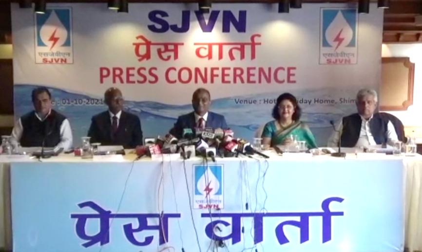 SJVN ने 2020-21 में अर्जित किया अब तक का सर्वाधिक 2168.67 करोड़ रुपए का लाभ, 2040 तक 25 हजार मेगावाट का लक्ष्य-CMD