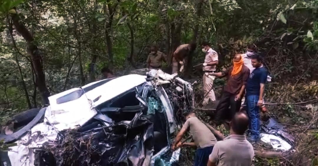 दुःखद-NH-205 पर बिलासपुर के गंभरपुल में आल्टो खाई में समाई, हरियाणा कैथल के 4 पर्यटकों की मौत, 3 दिन पूर्व मनाली घूमने का था प्लान