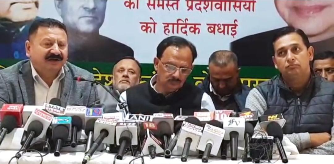 बीजेपी के एजेंट के रूप में काम कर रहा चुनाव आयोग, महंगाई बेरोजगारी पर सरकार खामोश, जनता देगी जवाब- हर्षवर्धन